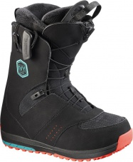 snowboard boty Salomon IVY black/teal blue/red