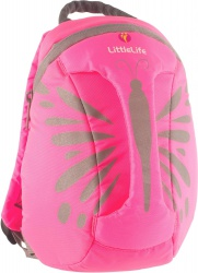 LittleLife Hi-Vis Kids ActionPak 6L pink