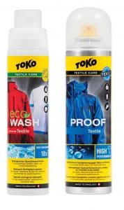 Impregnace Toko Care Line Textile Proof & Eco Textile Wash Akční balíček