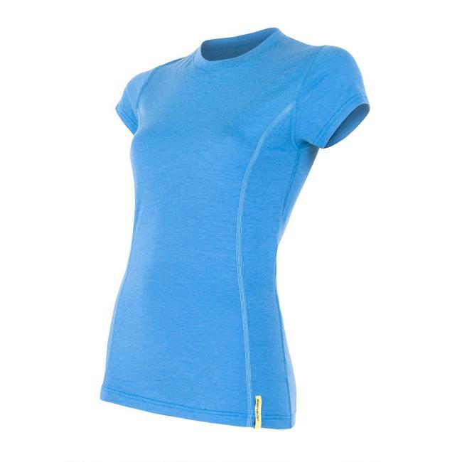 359cfefc5a7 SENSOR MERINO ACTIVE dámské triko kr.rukáv modrá