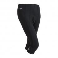 SENSOR CYKLO ENTRY dámské kalhoty 3/4 černá
