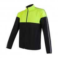 SENSOR NEON pánská bunda černá/žlutá reflex