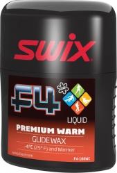 vosk SWIX F4-100WC 100ml +4°C a teplejší