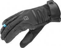 rukavice Salomon X ALP WS U black 17/18