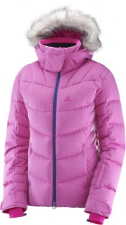 bunda Salomon Icetown W rose violet/heather 17/18