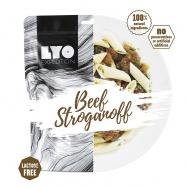 LYOfood Hovězí Stroganoff běžná porce