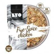 LYOfood Kuře pěti chutí s rýží velká porce