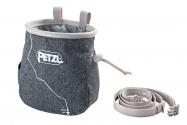 Petzl SAKA pytlík na magnézium šedý