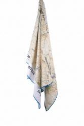 Lifeventure Printed SoftFibre OS Map Towel snowdon