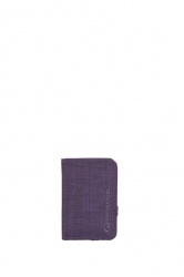 Lifeventure RFID Protected Card Wallet purple