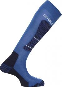 ponožky Salomon Mission union blue/big blue/white