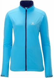 bunda Salomon Nova Softshell W score blue 13/14