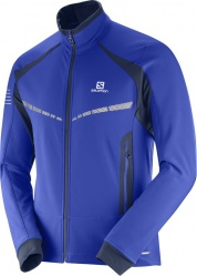 bunda Salomon RS warm softshell M surf the web/night 1