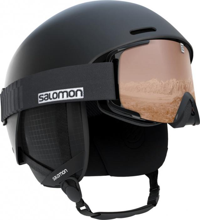lyž.helma Salomon Brigade black 18 19  3e73701ee81