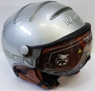 lyž.helma KASK Class silver photochromatic vel.63c