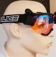 lyž.brýle SALICE běžecké 907RW black/RW radium