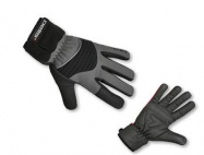 Pells Rukavice X-WINTER - černá/šedá S