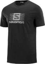 triko Salomon Blend logo SS M black XXL 19