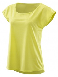 SKINS Activewear Code Cap Womens S/S Top Limoncello/Marle
