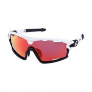 brýle HQBC Qert Plus FF bílé 3 v 1 HD + čirá a ora