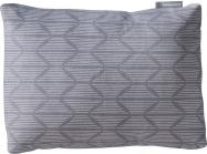 TREKKER PILLOW CASE Gray Print obal na polštářek šedý se vzorem