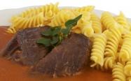 Expres menu Rajská s hovězím masem 2 porce
