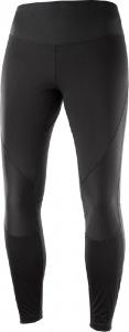 kalhoty Salomon Agile softshell tight W black XS 19/20