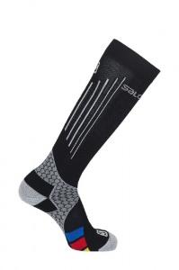 ponožky Salomon Nordic S-LAB compress.black/grey XL