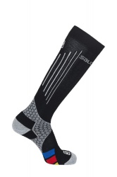ponožky Salomon Nordic S-LAB compress.black/grey M