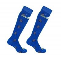 ponožky Salomon Team JR 2pack blue/sulphur XSK 19/20