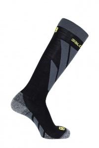 ponožky Salomon S/Access black/forged iron S 19/20