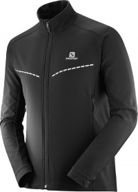 bunda Salomon Agile softshell M black XL 19/20