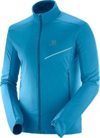 bunda Salomon RS softshell M fjord blue XL 19/20