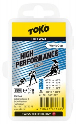 vosk TOKO High Performance 40g blue -10/-30°C