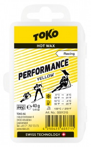 vosk TOKO Performance 40g yellow 0/-6°C