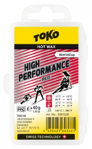 vosk TOKO High Performance 40g red -4/-12°C