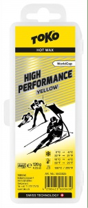 vosk TOKO High Performance 120g yellow 0/-6°C