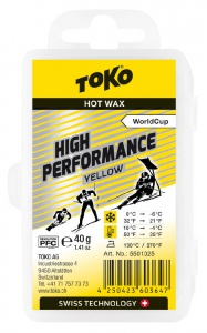 vosk TOKO High Performance 40g yellow 0/-6°C