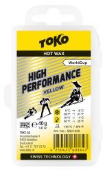 vosk TOKO High Performance 40g yellow 0/-6°C