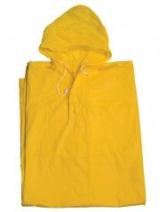 pláštěnka pončo PVC dospělá žlutá