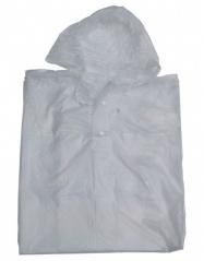 pláštěnka pončo PVC dospělá čirá