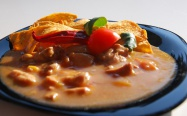 Expres menu Kuře po mexicku 1 porce