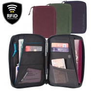 Lifeventure RFiD Mini Travel Wallet