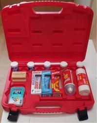 sada vosků SWIX T0062F (13 ks) v kufříku