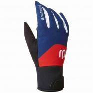 rukavice BJ Classic 2.0 modré/červené XS 19/20