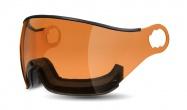 Mango -  visor pro přilbu Shining a Cusna, oranžový