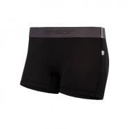 SENSOR COOLMAX TECH dámské kalhotky s nohavičkou černá
