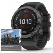 Garmin fenix6 PRO Solar, SlateGray/Black Band (MAP/Music)