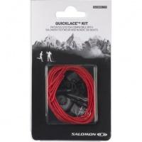 tkaničky Salomon Quicklace kit red