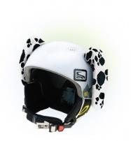 Crazy Uši ozdoba na helmu - dalmatin